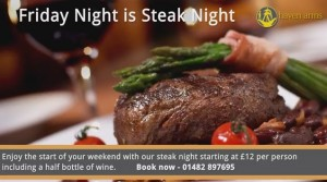 Haven Arms Steak night