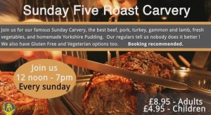 Haven Arms Sunday Roast