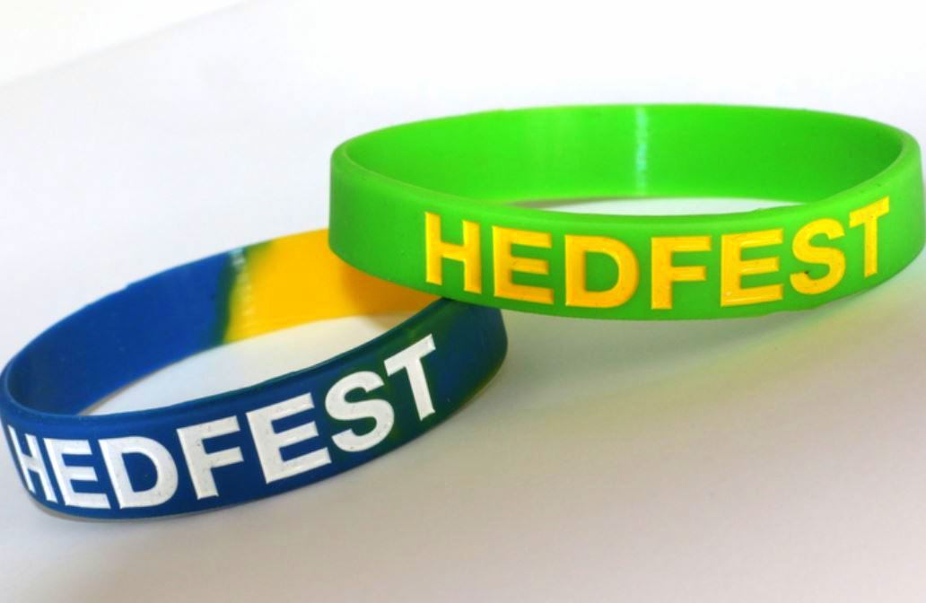 Wristbands Hedfest16
