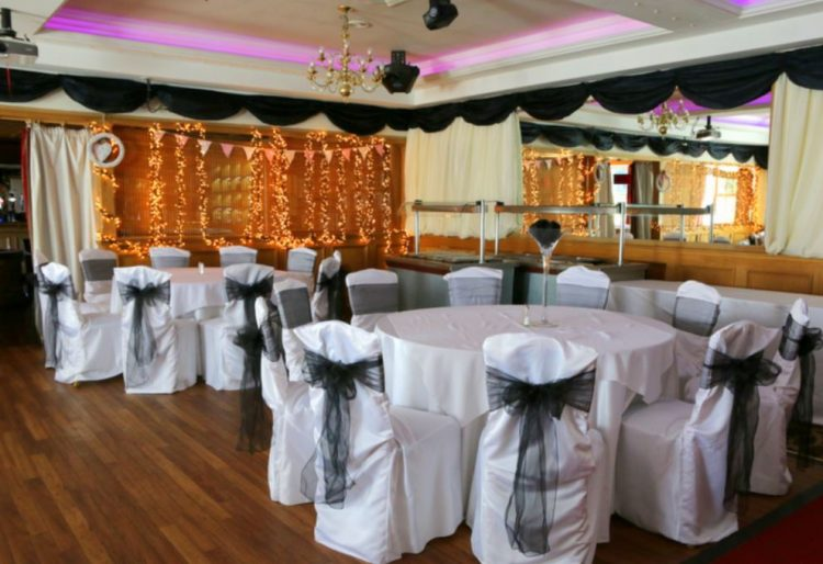 Haven Restaurant decorated for a function